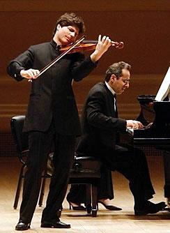 Augustin Hadelich and pianist Robert Kulek